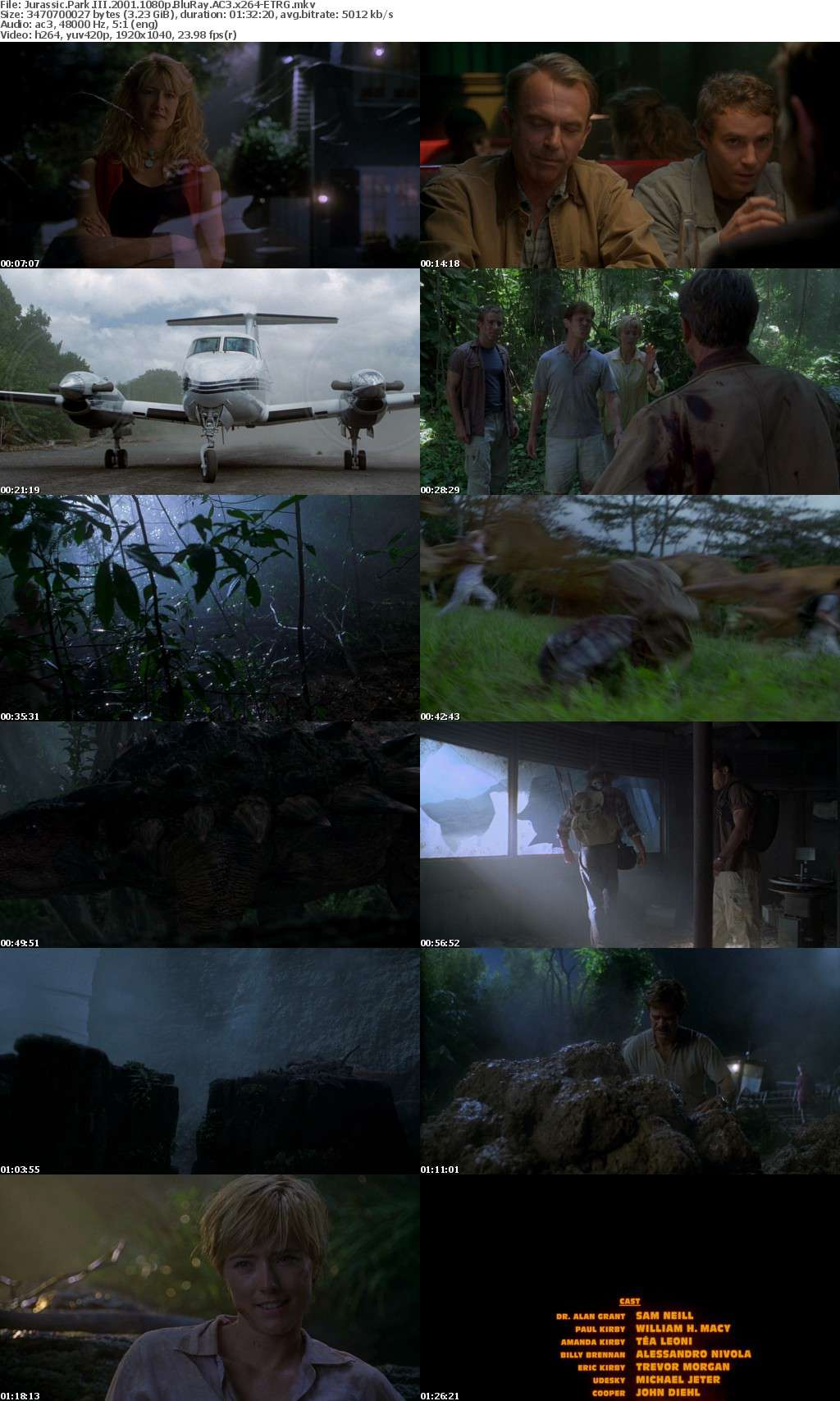Jurassic Park Collection 1080p BluRay AC3 x264-ETRG