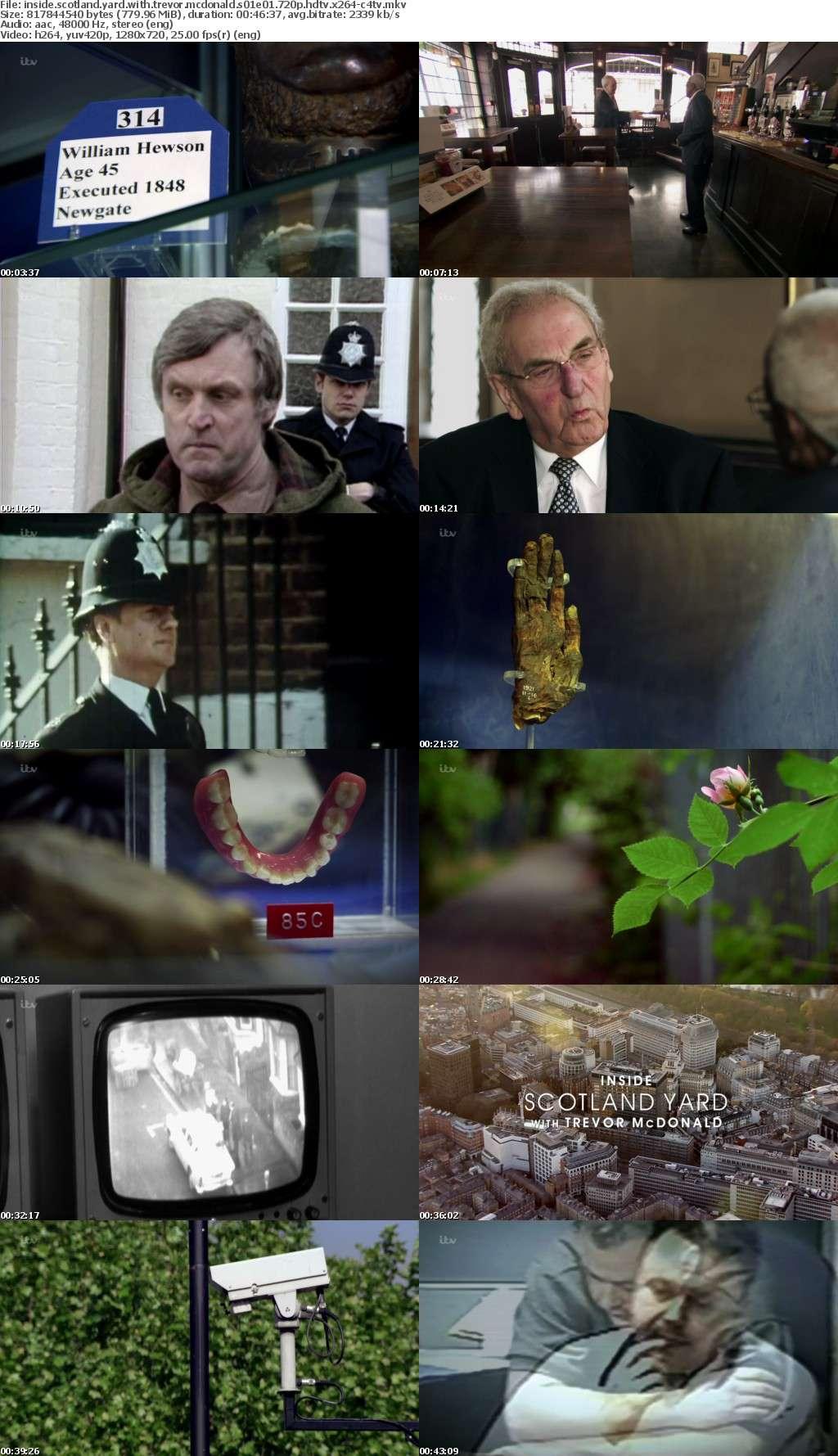 Inside Scotland Yard With Trevor Mcdonald S01E01 720p HDTV x264-C4TV