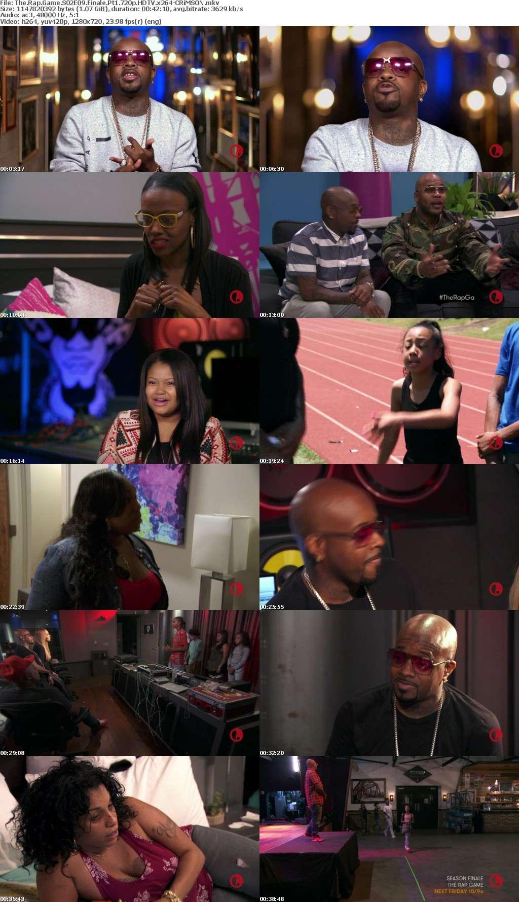 The Rap Game S02E09 Finale Pt1 720p HDTV x264-CRiMSON