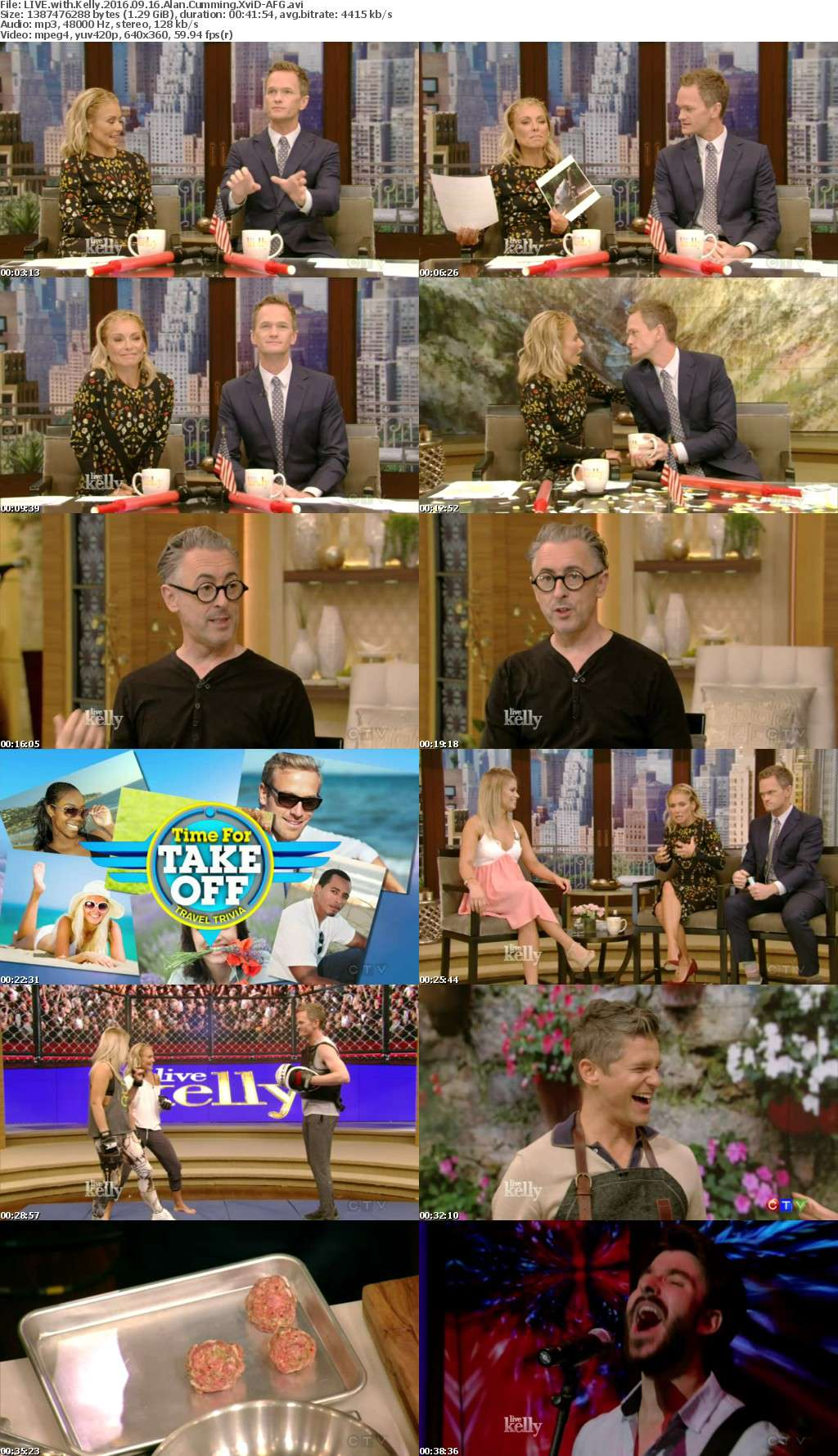 LIVE with Kelly 2016 09 16 Alan Cumming XviD-AFG