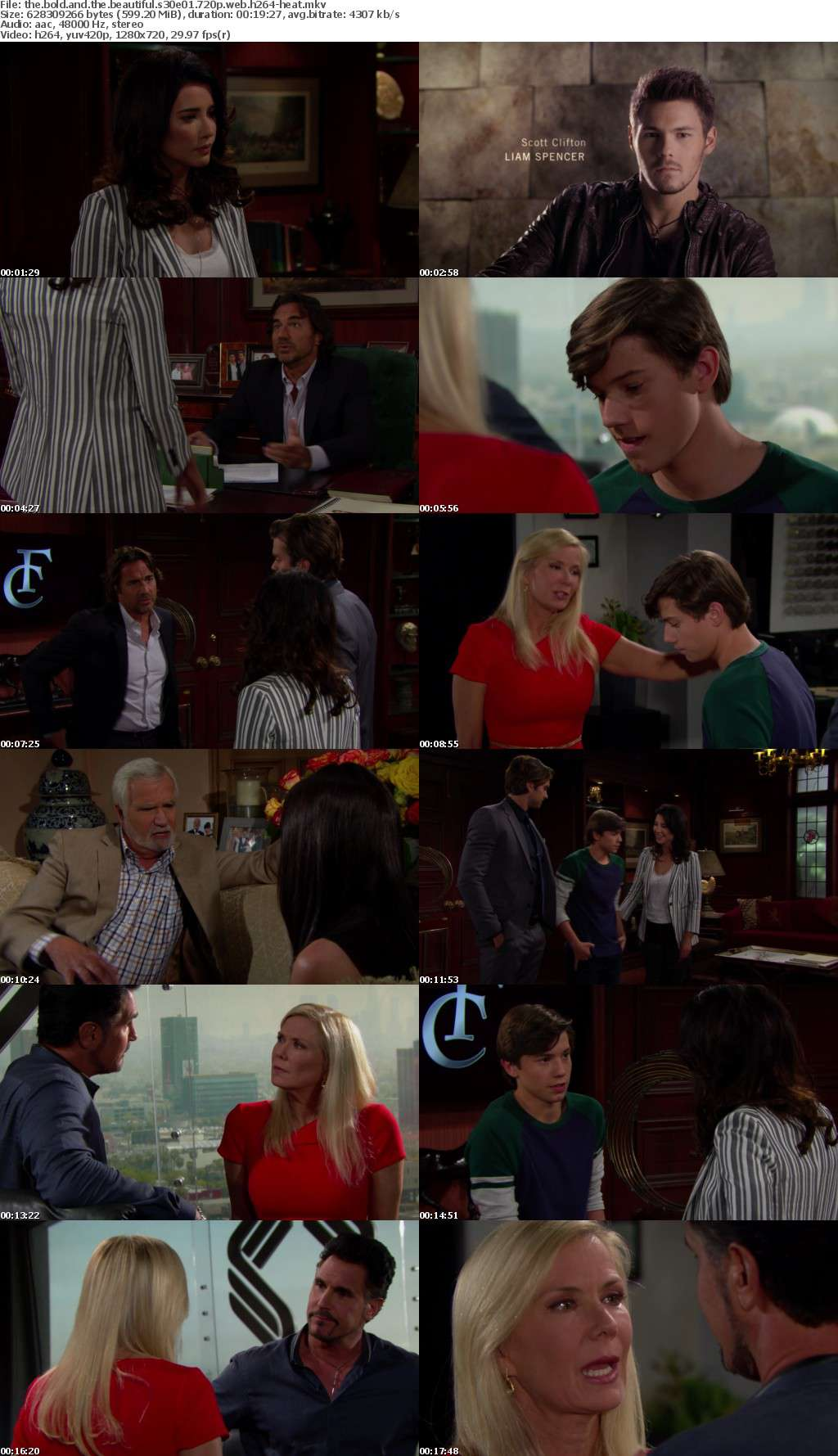 The Bold and the Beautiful S30E01 720p WEB h264-HEAT