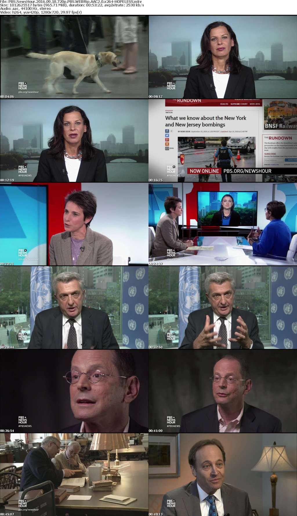 PBS NewsHour 2016 09 18 720p PBS WEBRip AAC2 0 x264-HOPELESS