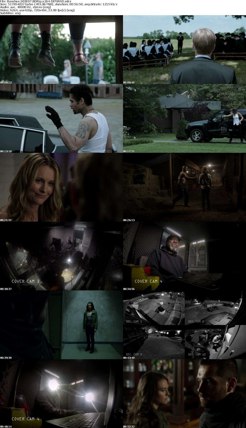 Banshee S01-S04 BDRip x264