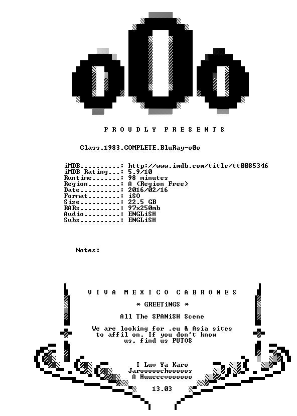 Class 1983 COMPLETE BluRay-o0o