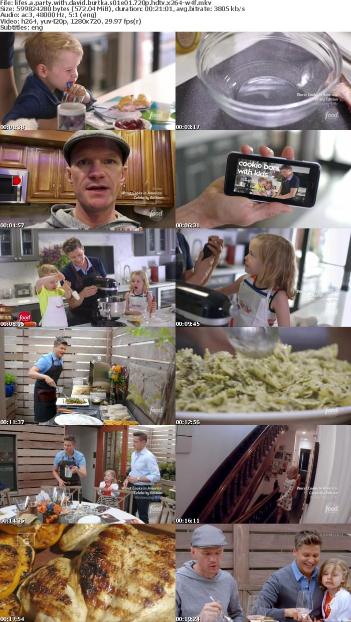 Lifes A Party With David Burtka S01E01 720p HDTV x264-W4F