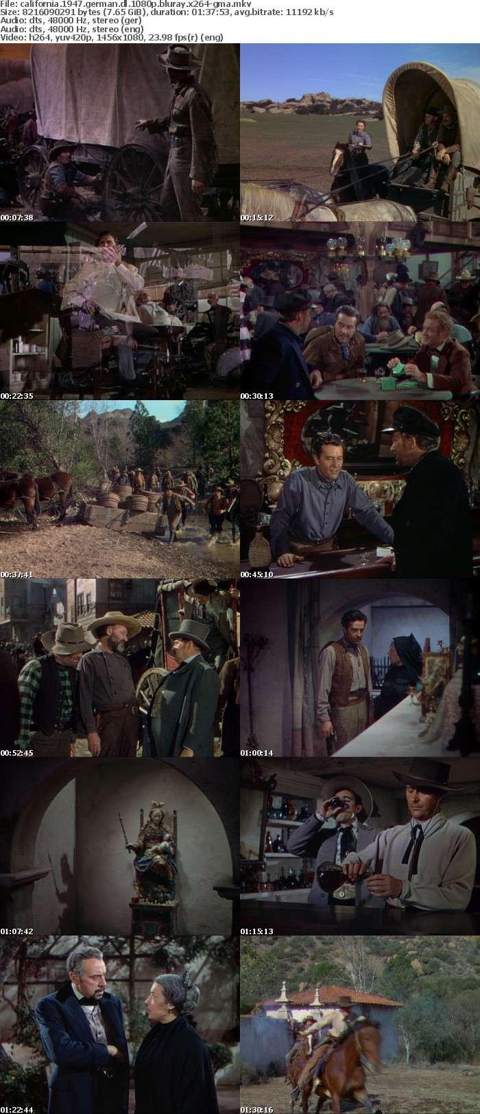 California 1947 German DL 1080p BluRay x264-GMA
