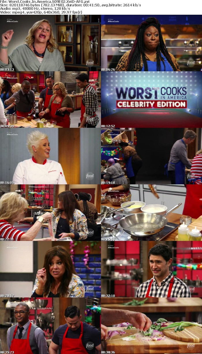 Worst Cooks In America S09E02 XviD-AFG