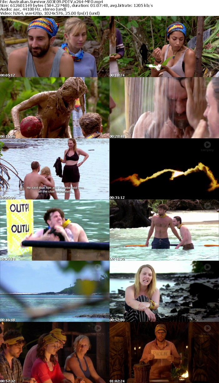 Australian Survivor S03E09 PDTV x264 MFO