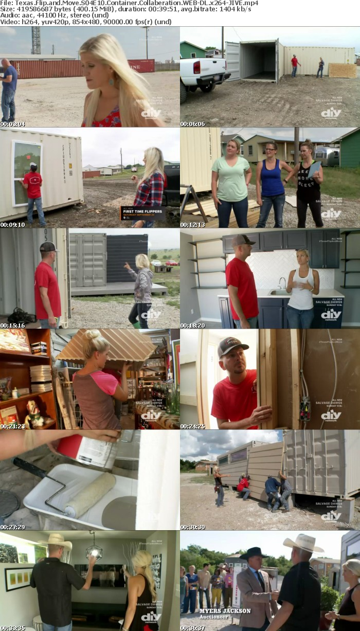 Texas Flip and Move S04E10 Container Collaberation WEB DL x264 JIVE