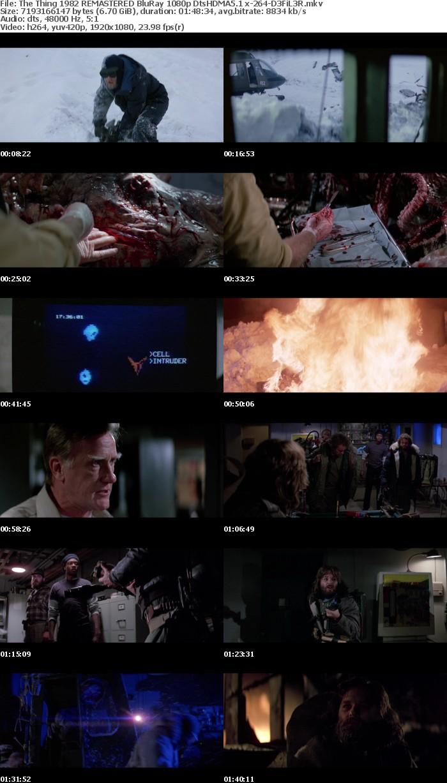 The Thing 1982 REMASTERED BluRay 1080p DtsHDMA5 1 x-264-D3FiL3R