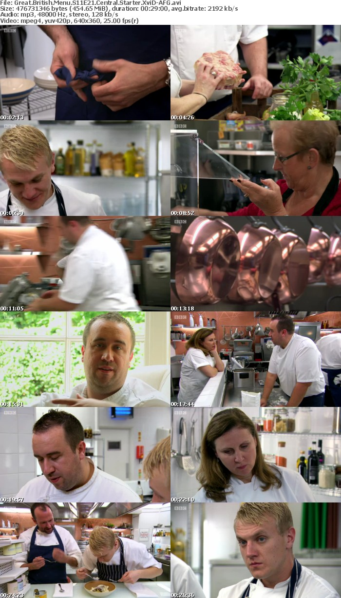 Great British Menu S11E21 Central Starter XviD-AFG