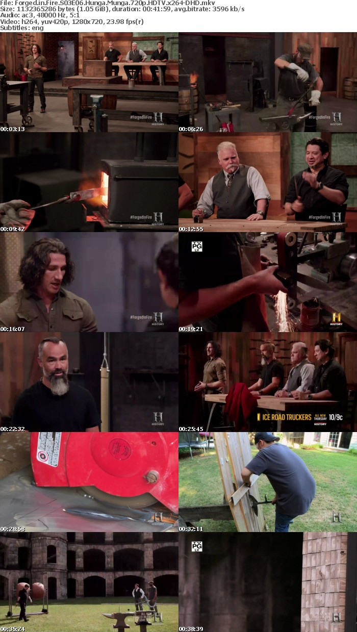 Forged in Fire S03E06 Hunga Munga 720p HDTV x264-DHD