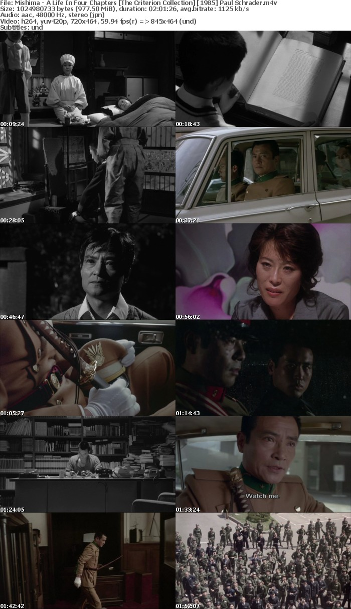 Mishima - A Life In Four Chapters [The Criterion Collection] [1985] Paul Schrader