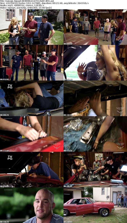 Garage Squad S03E08 64 GTO XviD-AFG
