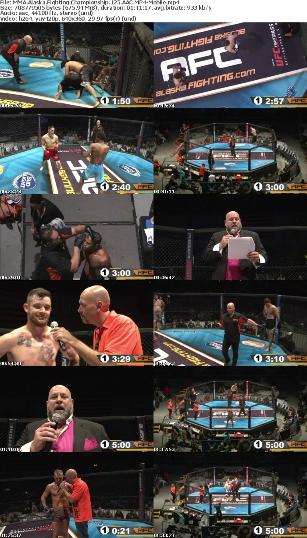 MMA Alaska Fighting Championship 125 AAC-Mobile
