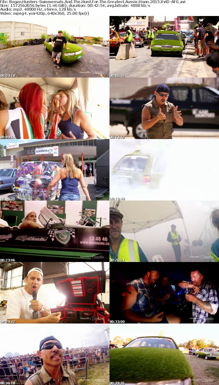 Bogan Hunters-Summernats And The Hunt For The Greatest Aussie Hoon 2015 XviD-AFG