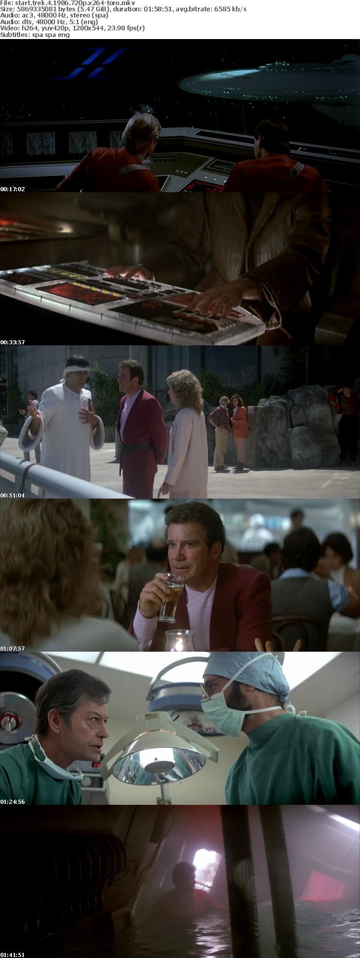 Star Trek IV Mision Salvar La Tierra 1986 SPANiSH MULTi 720p BluRay x264-TORO