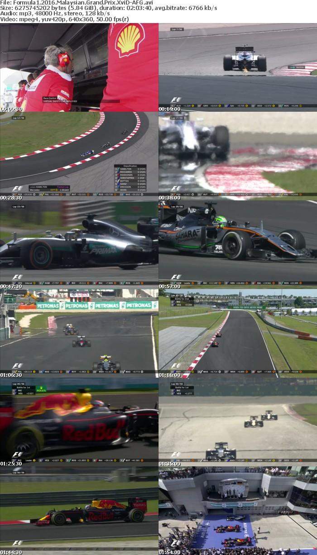Formula1 2016 Malaysian Grand Prix XviD-AFG