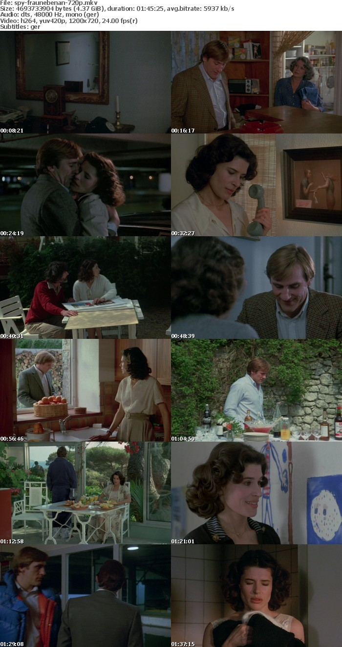Die Frau nebenan 1981 German 720p BluRay x264-SPiCY