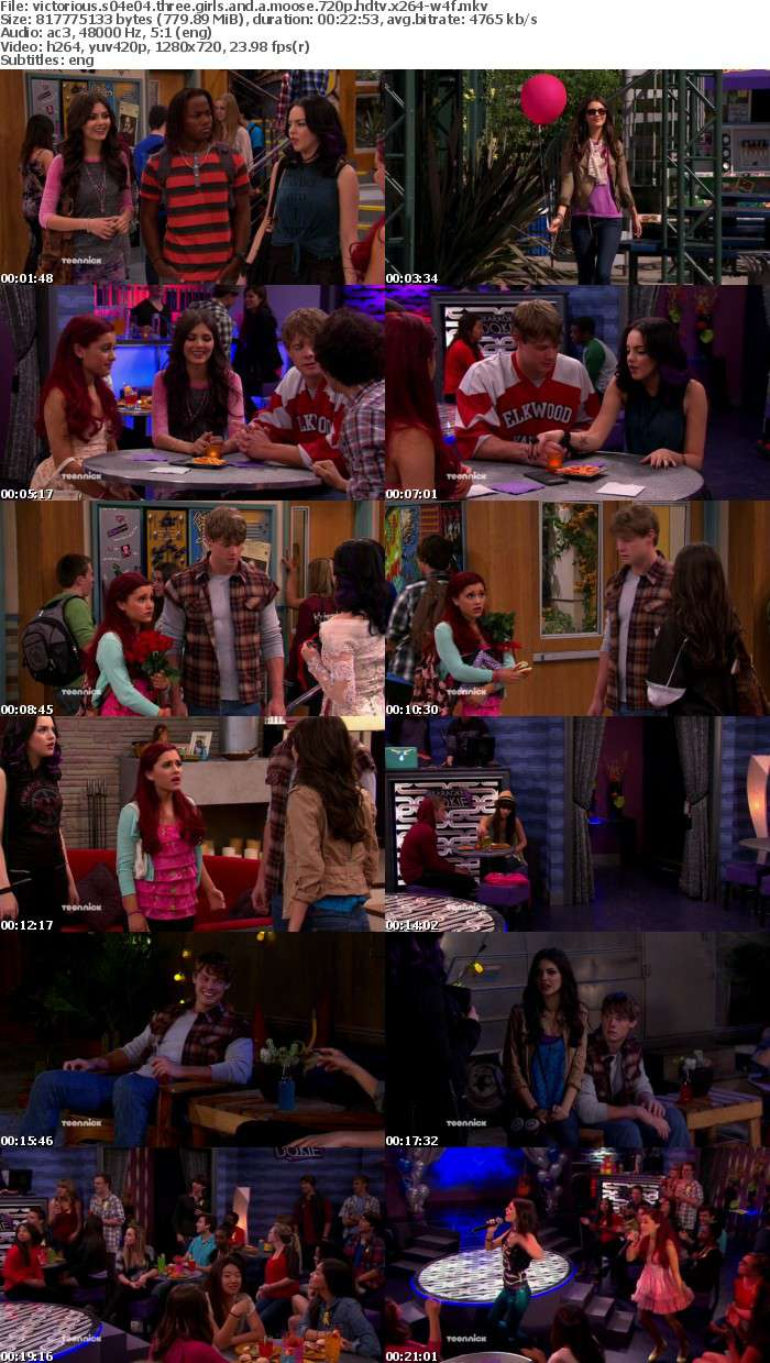 Victorious S04E04 Three Girls and a Moose 720p HDTV x264-W4F