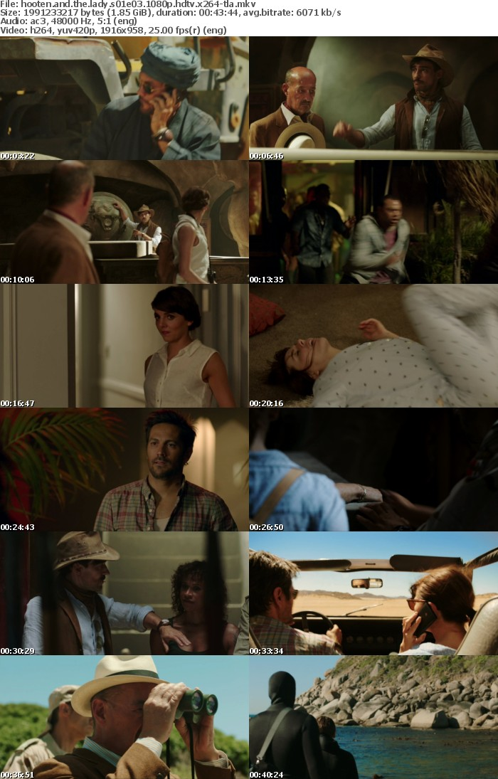 Hooten And The Lady S01E03 1080p HDTV x264A