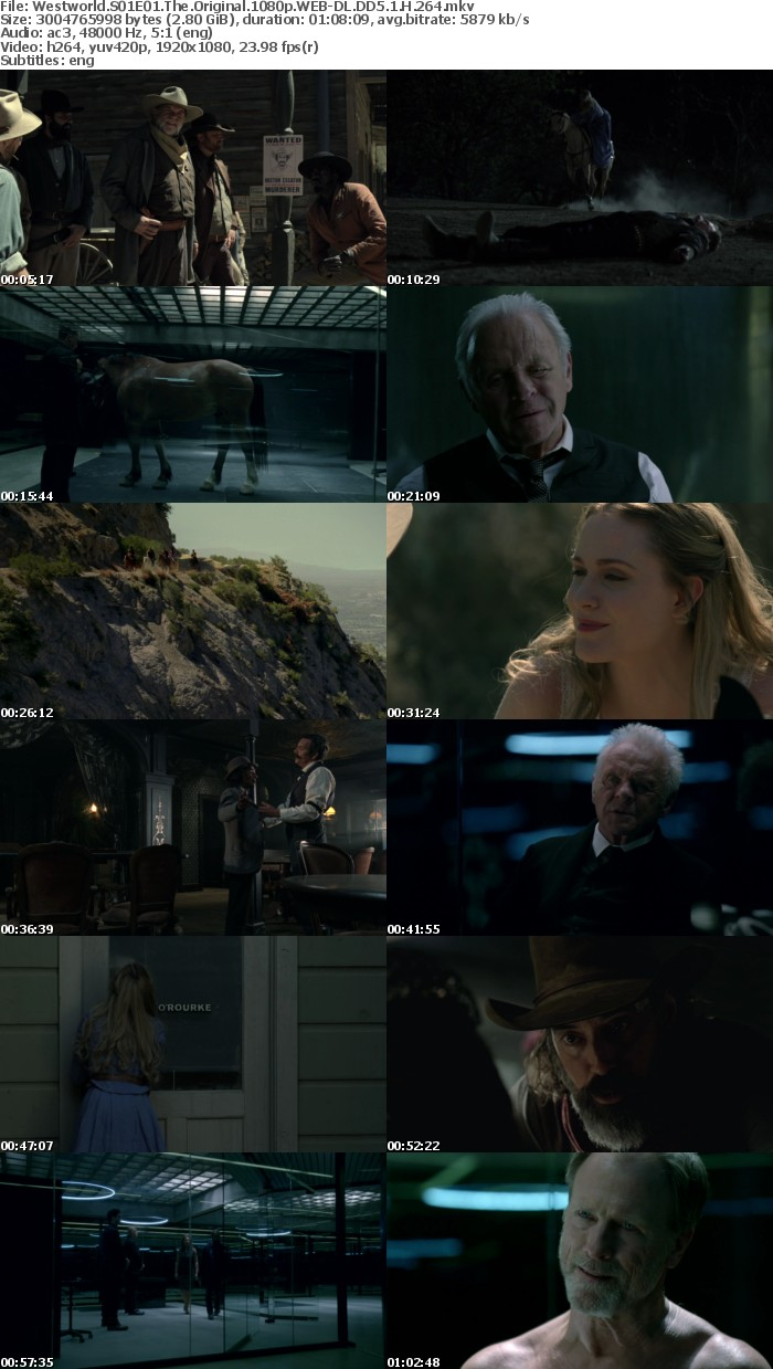 Westworld S01E01 The Original 1080p WEB DL DD5 1 H 264