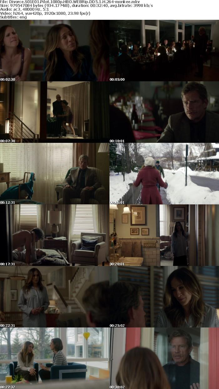 Divorce S01E01 Pilot 1080p HBO WEBRip DD5 1 H 264 monkee