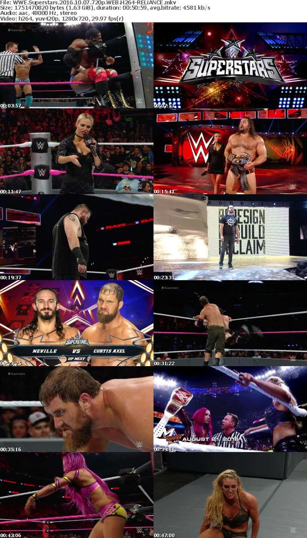 WWE Superstars 2016 10 07 720p WEB H264-RELiANCE