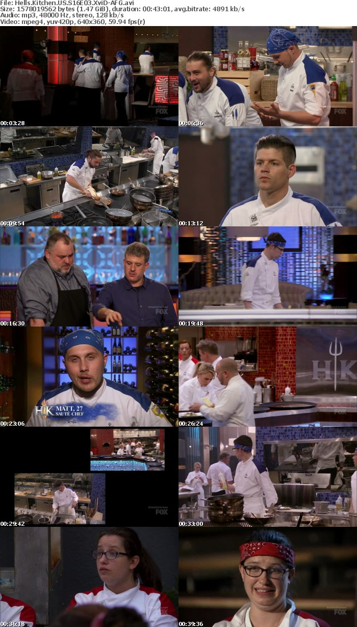 Hells Kitchen US S16E03 XviD-AFG