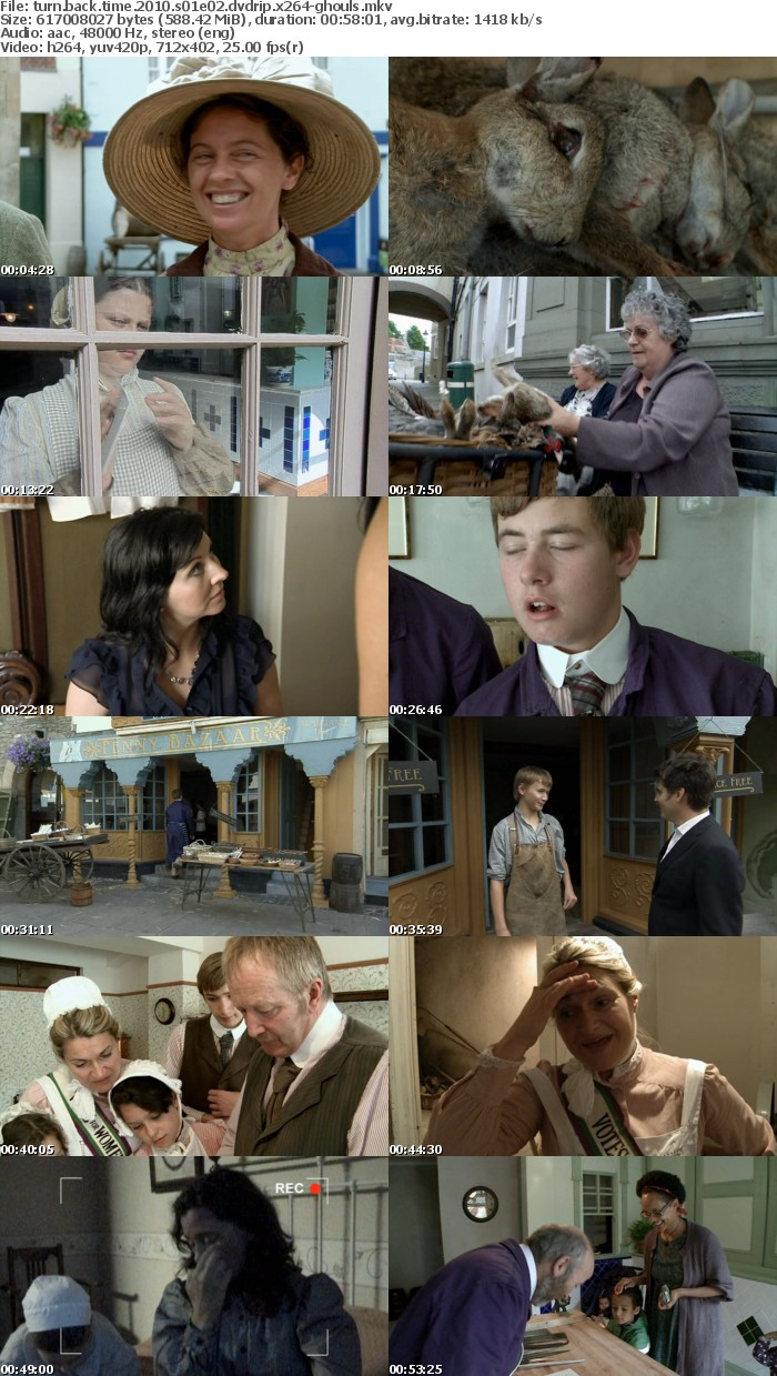 Turn Back Time 2010 S01 DVDRip x264