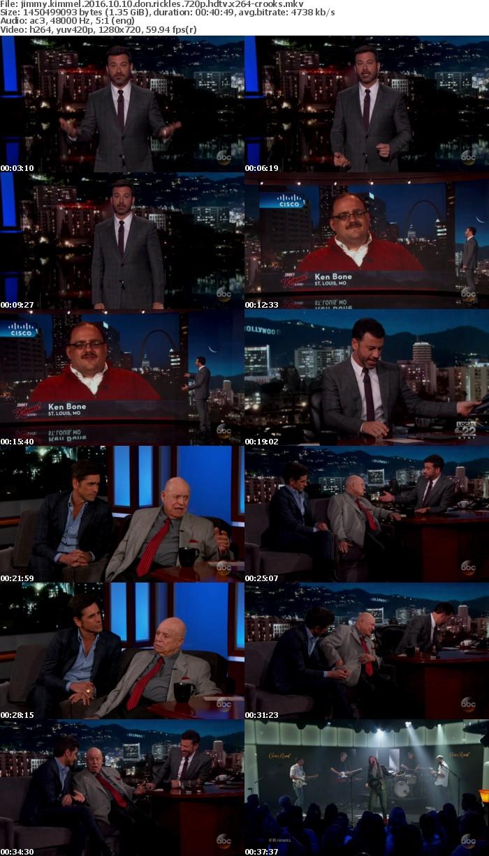 Jimmy Kimmel 2016 10 10 Don Rickles 720p HDTV x264-CROOKS