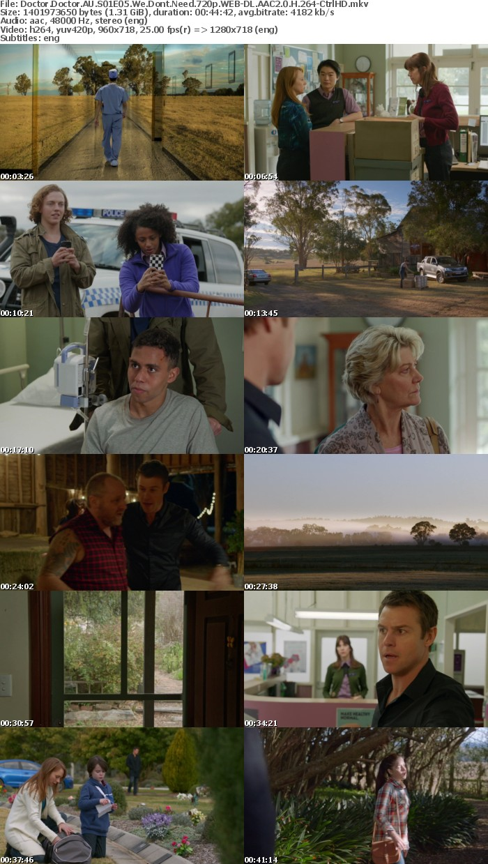 Doctor Doctor AU S01E05 We Dont Need 720p WEB DL AAC2 0 H 264 CtrlHD