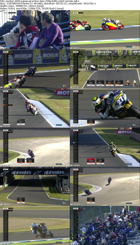 Moto2 2016 Japan Practice Two 720p HDTV x264-VERUM