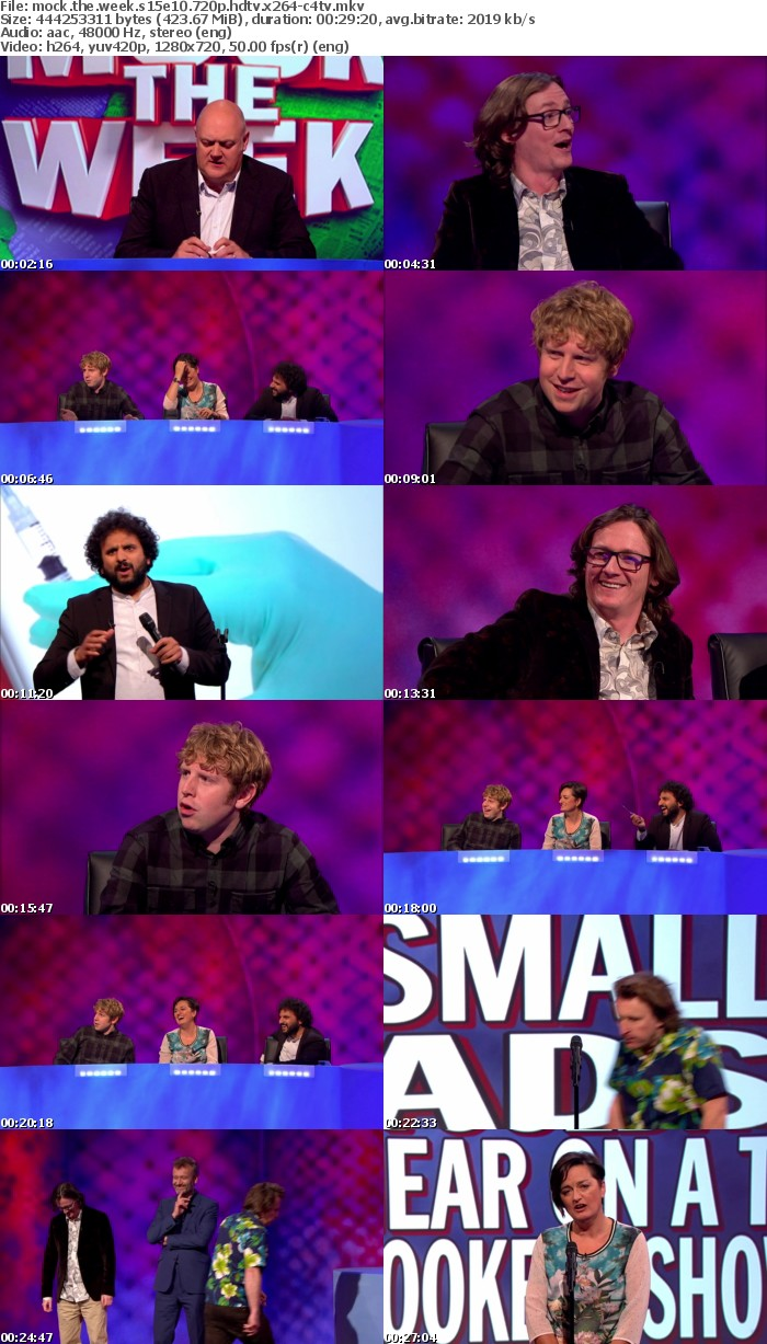 Mock the Week S15E10 720p HDTV x264-C4TV
