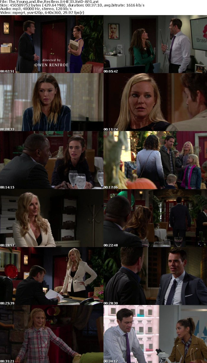 The Young and the Restless S44E33 XviD-AFG