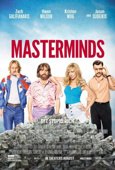 Masterminds (2016) 720p Brrip X264-shaanig