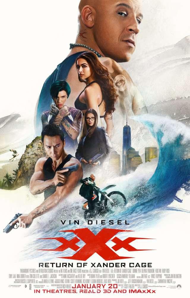 xXx Return of Xander Cage 2017  BluRay x264 AAC 5 1 ESubs  Downloadhub