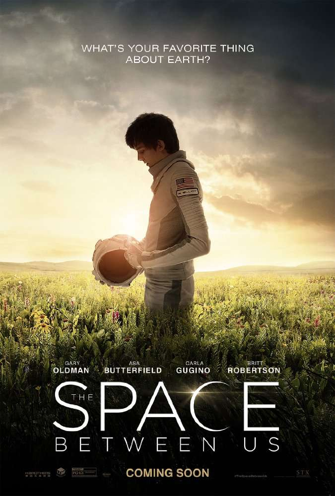 The Space Between Us 2017  BRRip x265GunGravE