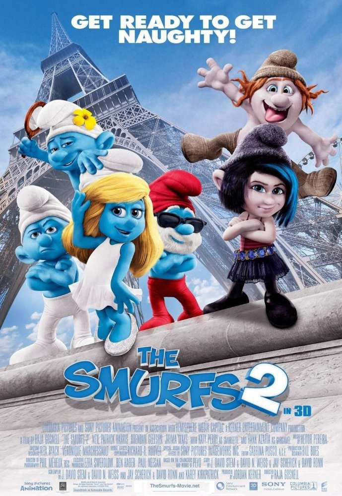 The Smurfs 2 2013  10bit HDR ENG ARA BluRay 5 1 x265 HEVCMZABI mkv