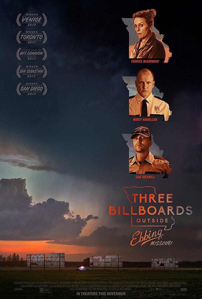 Three Billboards Outside Ebbing Missouri 2017 720p BRRip X264 AC3-EVO