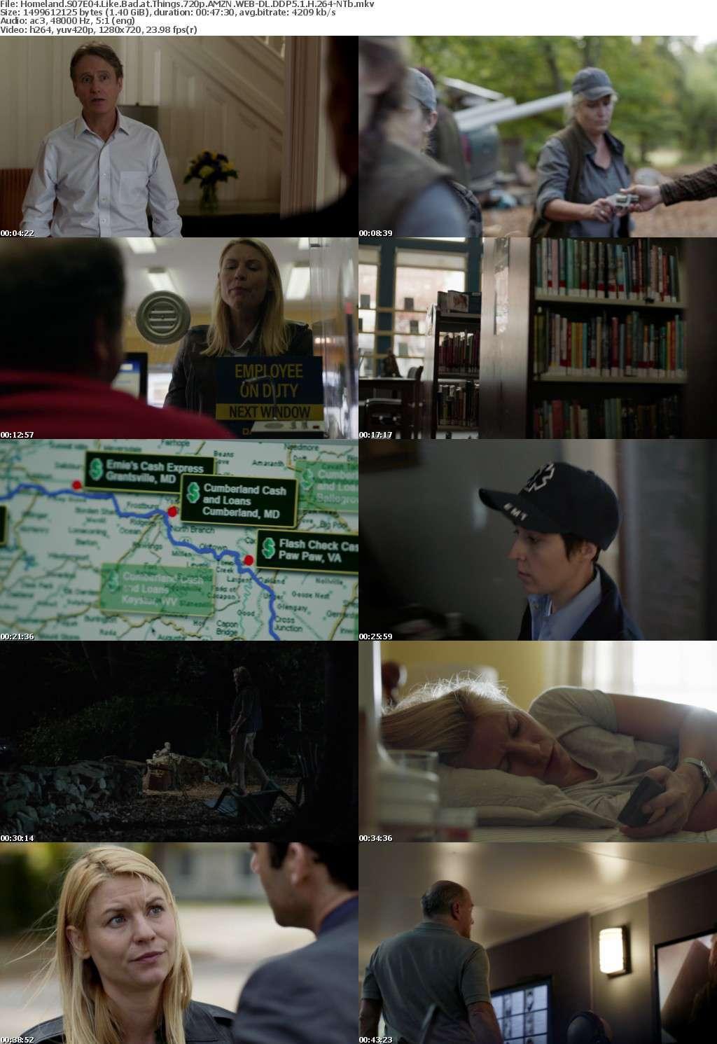Homeland S07 720p AMZN WEB-DL DDP5 1 H 264-NTb