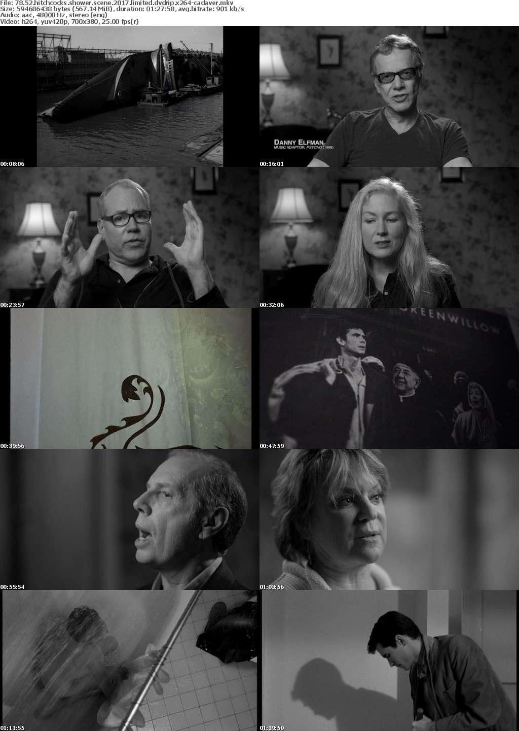 78 52 Hitchcocks Shower Scene 2017 LiMiTED DVDRip x264-CADAVER
