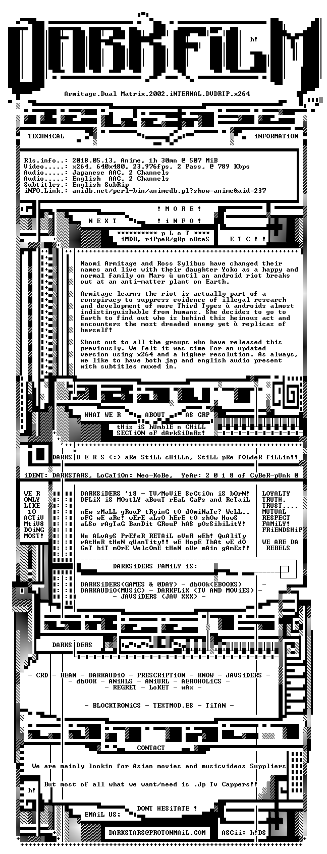 Armitage Dual-Matrix 2002 iNTERNAL DVDRIP x264-DARKFLiX