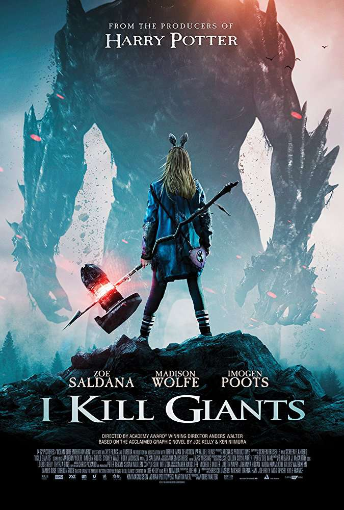 I Kill Giants 2017 BRRip XviD AC3-XVID