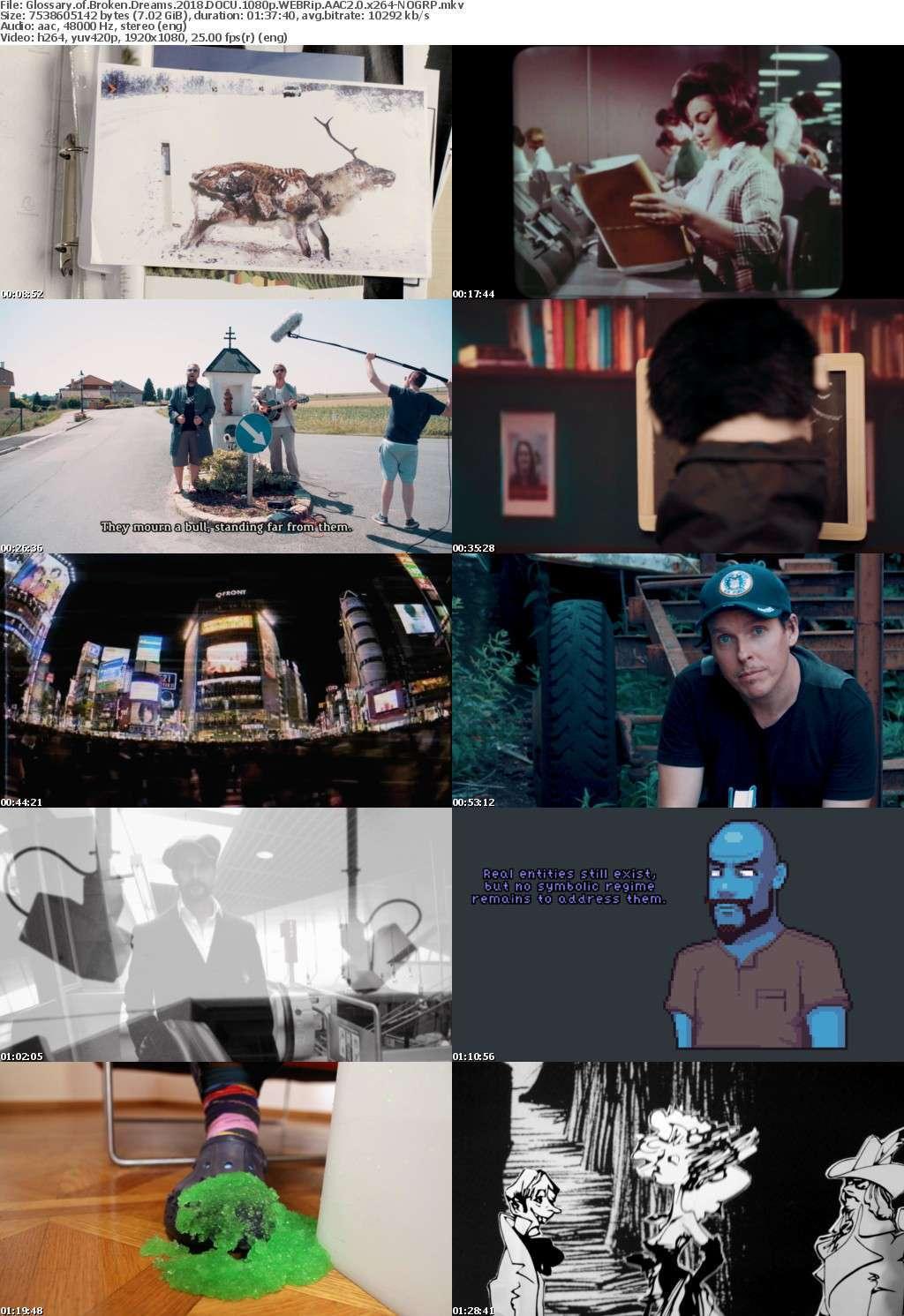 Glossary of Broken Dreams 2018 DOCU 1080p WEBRip AAC2 0 x264-NOGRP
