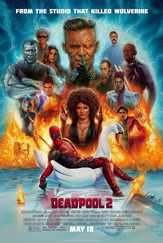 Deadpool 2 (2018) HDTS ( Clear Audios ) Hinid + English 720p x264 850MB - AAC