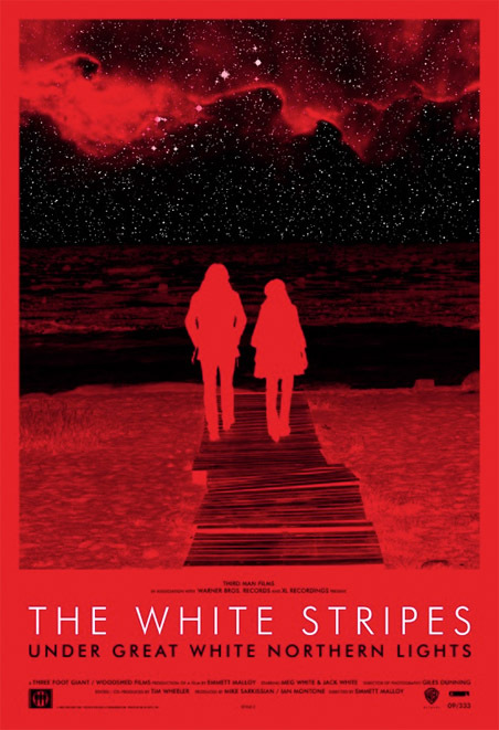The White Stripes Under Great White Northern Lights (2009) 720p BluRay H264 AAC-RARBG