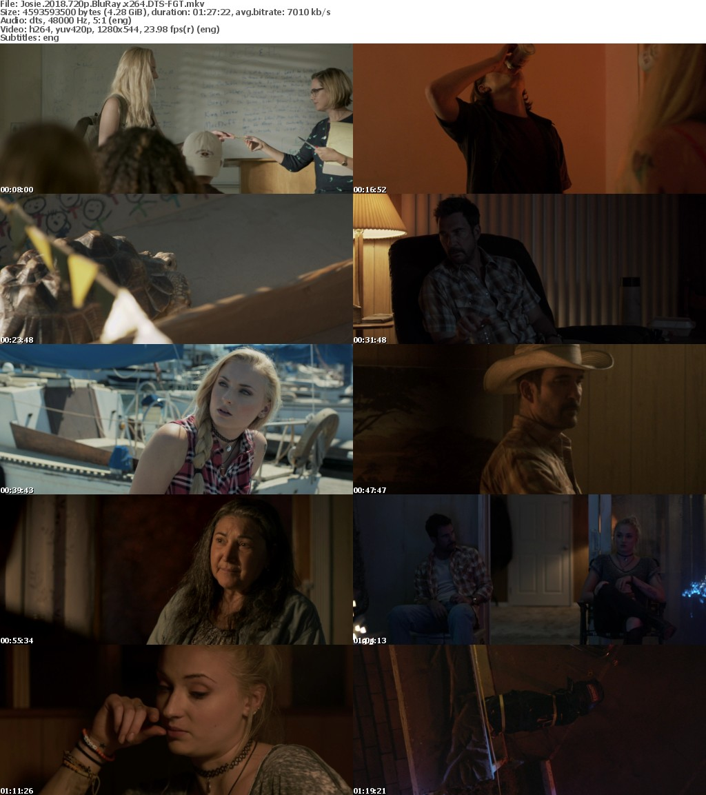 Josie 2018 720p BluRay x264 DTS-FGT