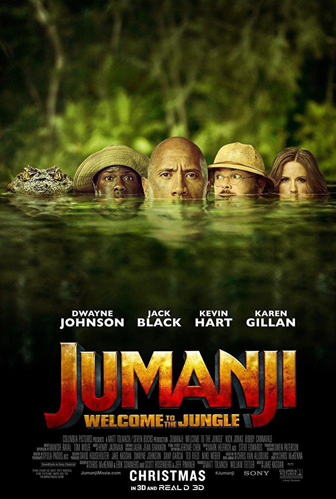Jumanji Welcome to the Jungle 2017 1080p BluRay x264 Dual Audio Org Hindi DD 5 1 - English DD 5 1 ESub MW