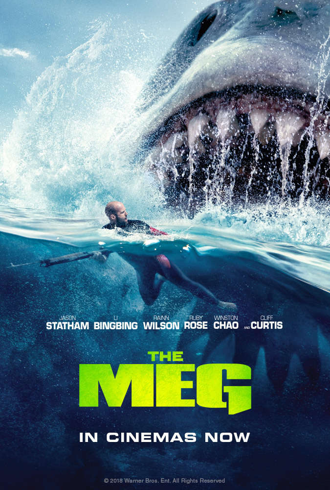 The Meg (2018) 720p HC HDRip x264 Dual-AudioHindi (Cleaned) - English - Downloadhub